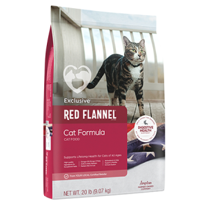 Red Flannel Cat Formula Cat Food 20lb