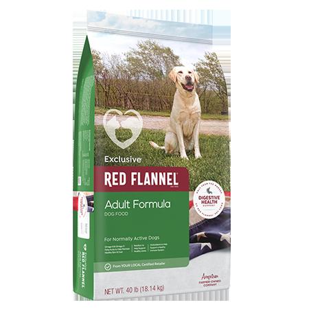 Red Flannel Adult Formula Dog Food