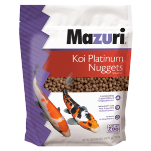 Mazuri Koi Platinum Nuggets Fish Food