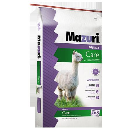 Mazuri® Alpaca Care Food Bag 40-lb