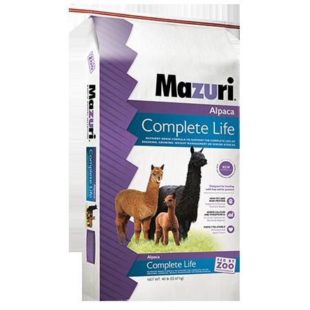 Mazuri Alpaca Complete Life Exotic Food 40-lb Bag