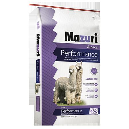 Mazuri® Alpaca Performance Feed Bag 40-lb