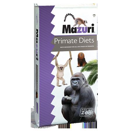 Mazuri Primate Food Bag 25-lbs