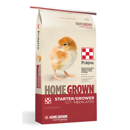 Purina Home Grown Starter/Grower Medicated