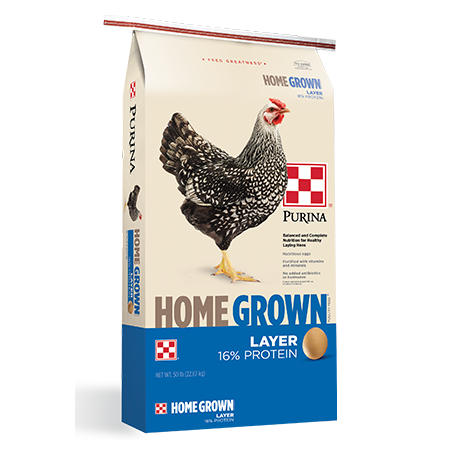 Purina Home Grown 16% Layer Pellets