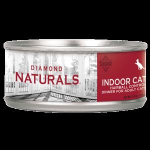 Diamond Naturals Indoor Hairball Wet Cat Food