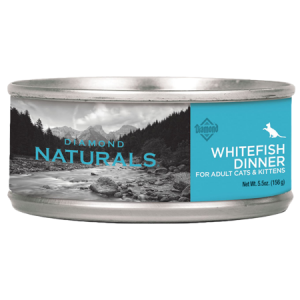 Diamond Naturals Whitefish Dinner Adult & Kitten Canned Cat Food