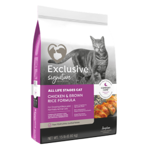 Exclusive All Life Stages Cat Chicken Brown Rice