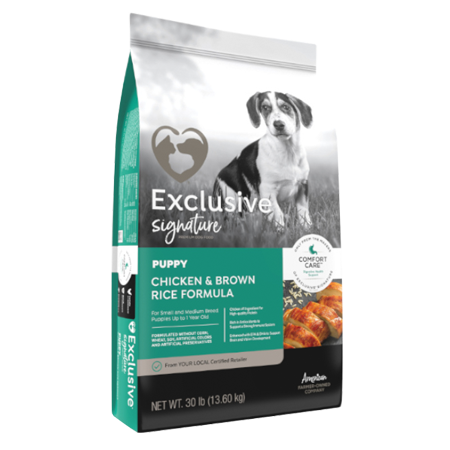 Exclusive Signature Puppy Food Chicken & Brown Rice Formula