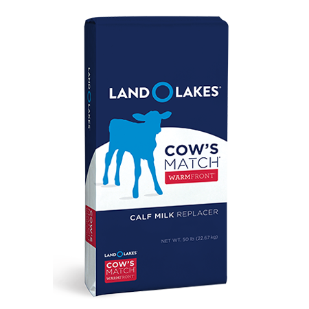 Land O' Lakes Cow's Match WarmFront
