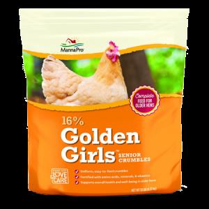 Mann Pro Golden Girls Senior Poultry Crumbles