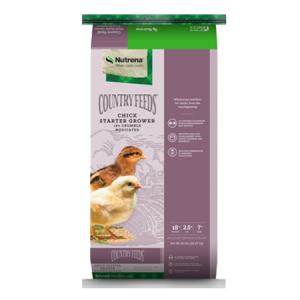 Nutrena Country Feeds Chick Starter Grower Medicated