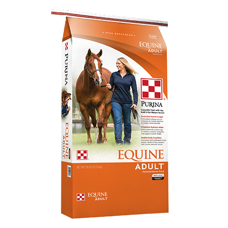 Purina Equine Adult Horse Feed