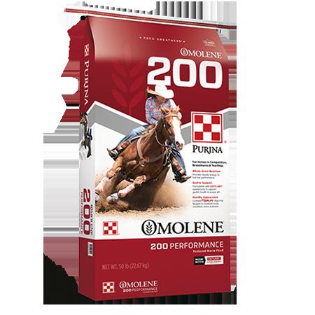 Purina Omolene 200 Performance Horse Feed