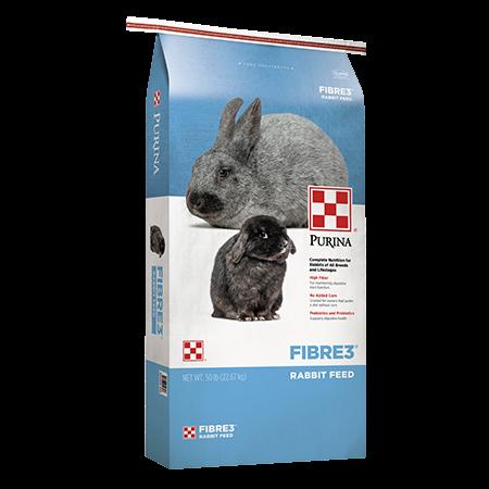 Purina® Fibre3 Rabbit Feed
