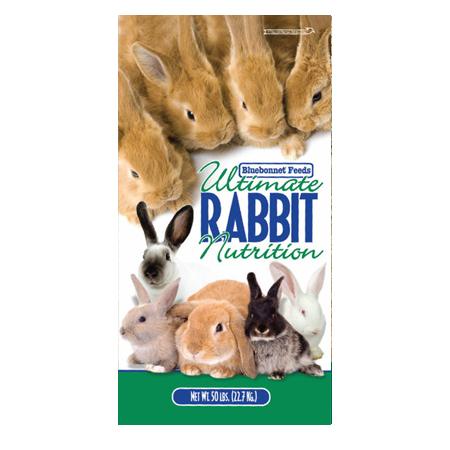 Bluebonnet Kindle Bits 18% Rabbit Feed
