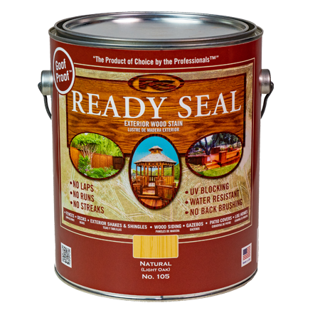 Ready Seal Light Oak (Natural) 105 Stain and Sealer