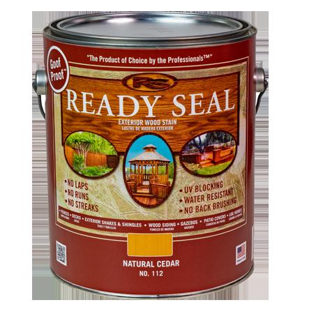 Ready Seal Cedar 112 Stain and Sealer