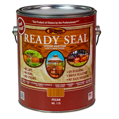Ready Seal Pecan 115 Stain and Sealer