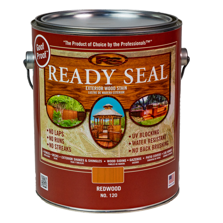Ready Seal Redwood 120 Stain and Sealer