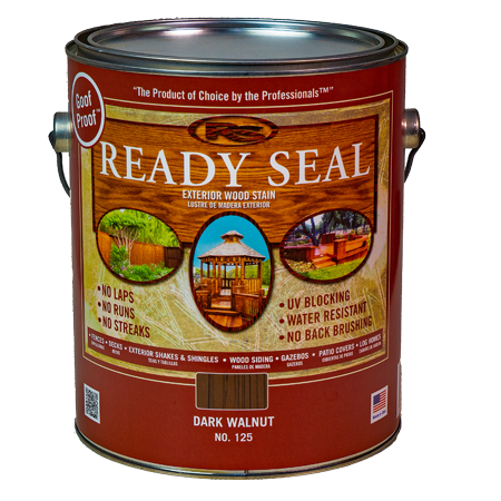 Ready Seal Dark Walnut 125 Stain and Seal