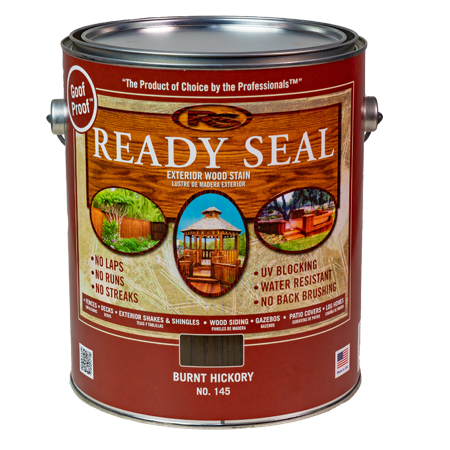 Ready Seal Burnt Hickory 145 Stain and Sealer