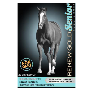 Renew Gold Senior Horse Supplement