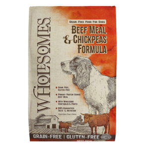 Wholesomes™ Grain-Free Beef Meal & Chickpeas Dry Dog Food