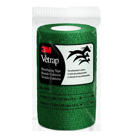 Vetrap Self-Adherent Bandaging Tape - Hunter Green