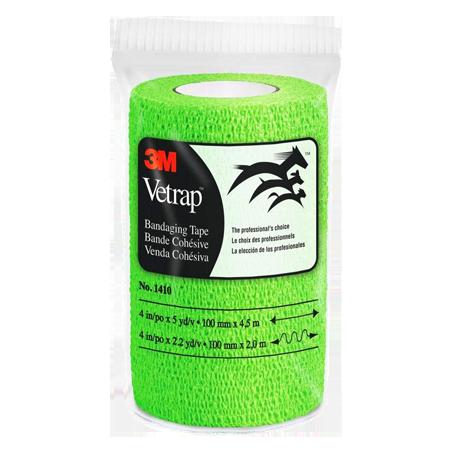 Vetrap Self-Adherent Bandaging Tape - Lime Green