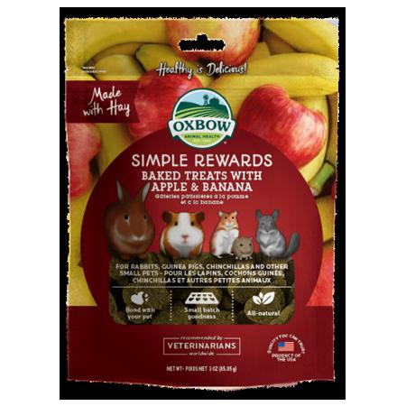 Oxbow Simple Rewards Baked Apple & Banana