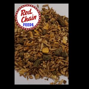 Red Chain 10% Buckaroo Textured Horse Feed