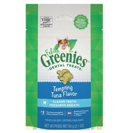 Greenies Feline Tempting Tuna Flavor Adult Dental Cat Treats