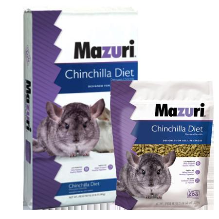Mazuri Chichilla Diet