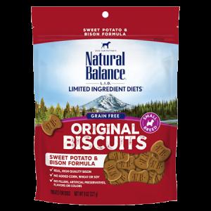 Natural Balance Limited Ingredient Sweet Potato and Bison Formula Dog Treats