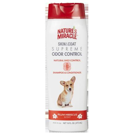 Nature's Miracle Supreme Odor Control Dog Shampoo