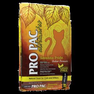 PRO PAC Savanna Pride Indoor Formula Dry Cat Food