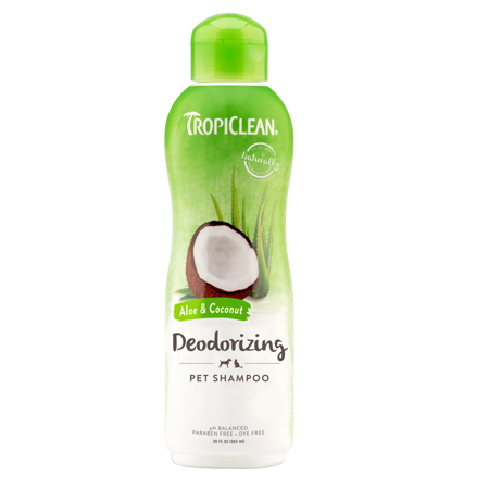TropicClean Deodorizing Aloe & Coconut Dog And Cat Shampoo