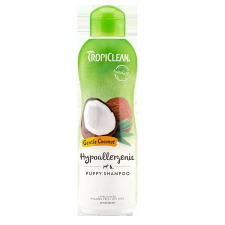 TropiClean Hypo-Allergenic Gentle Coconut Puppy & Kitten Shampoo