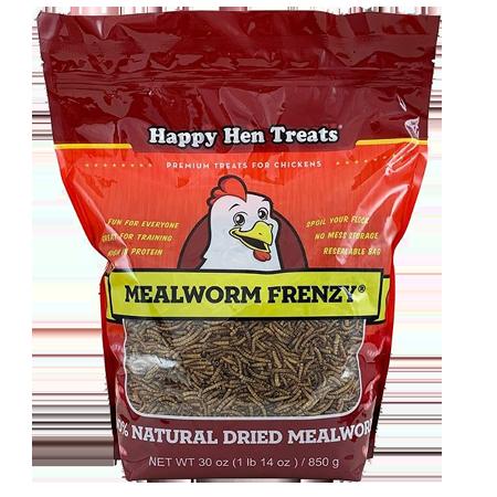 Happy Hen Treats Mealworm Frenzy Chicken Treats
