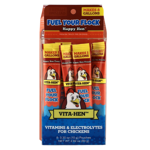 Happy Hen Treats Vita-Hen Vitamins & Electrolytes Chicken Supplement