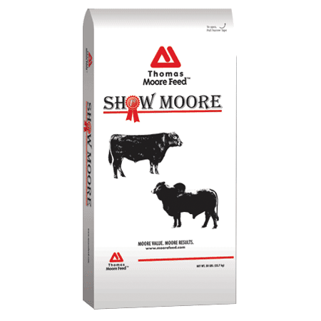 Thomas Moore Show Moore Starter/Grower Medicated Cattle Feed