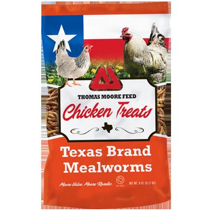 Thomas Moore Texas Brand Mealworms