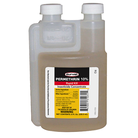 Durvet Permethrin 10% Insecticide Concentrate