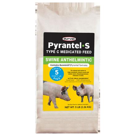 Durvet Pyrantel-S Medicated Swine Feed