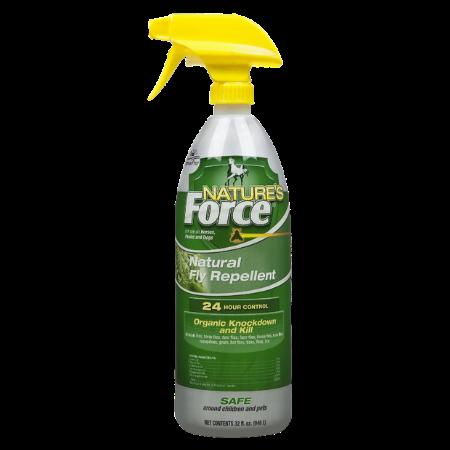 Nature's Force Natural Horse Fly Repellent, 32-oz bottle