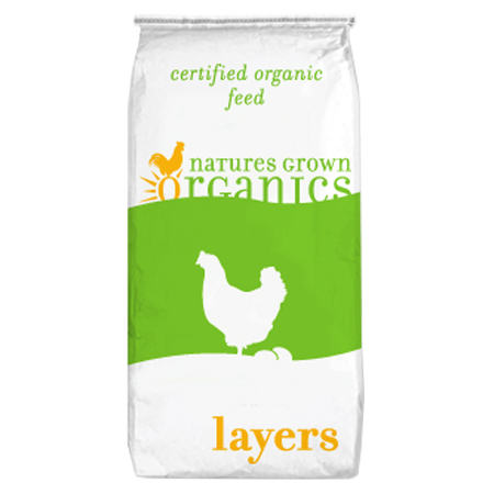 Natures Grown Organics Organic Layer 14% Layer Feed