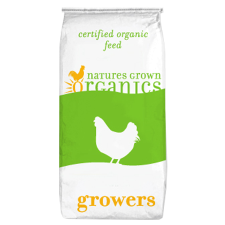 Natures Grown Organics Fine Feathered Premix Poultry Feed