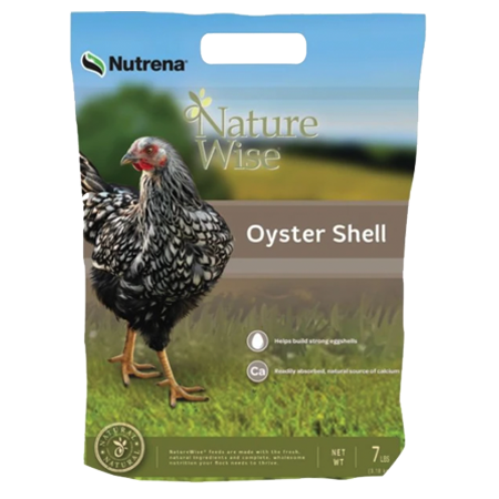 Nutrena NatureWise Oyster Shell Poultry Feed