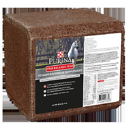 Purina Free Balance 12:12 Vitamin & Mineral Supplement Block
